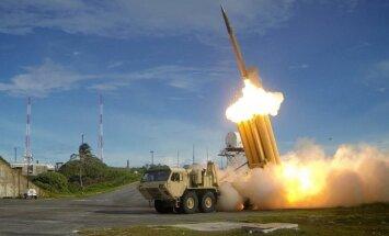 ASV Dienvidkorejā izvietos pretraķešu aizsardzības sistēmu THAAD