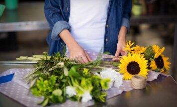 Noņemti ērkšķi, ziedputekšņi un ne tikai – zelta likumi griezto ziedu izvēlē
