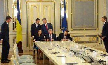 'Delfi' no Kijevas: Ukrainai atjaunojot cīņu ar korupciju, ES piešķir miljardu