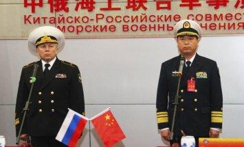Ķīna un Krievija sāk kopīgas kara flotes mācības