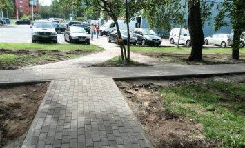 Читатель: В Иманте построили пешеходную дорожку для человека-молнии! (+ комментарий Нила Ушакова)