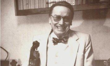 Mūžībā aizgājis izcilais latviešu vijolnieks un diriģents Arvīds Zvagulis