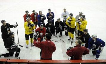 Paziņots Latvijas hokeja izlases sastāvs dalībai olimpiskajā kvalifikācijā