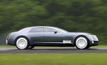 'Cadillac' gatavo milzīgu aizmugurējo riteņu piedziņas sedanu