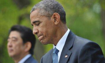 Obama liek ASV uzņemt 10 000 Sīrijas bēgļu
