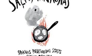 Izdota latviešu autora grāmata skolēniem – spokains piedzīvojumu stāsts
