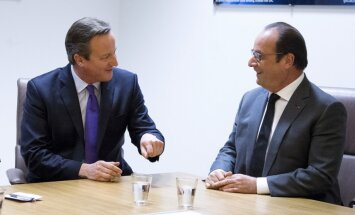 Olands un Kamerons apspriedīs cīņu pret terorismu un Sīrijas krīzi