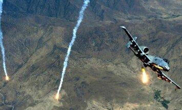 ASV gaisa uzlidojumi Irākā izmaksā 7,5 miljonus dolāru dienā
