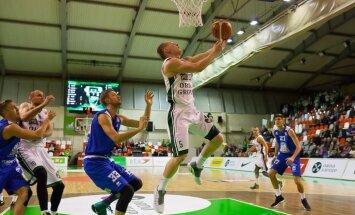 'Ventspils' un 'Valmiera/ORDO' basketbolisti izcīna uzvaras LBL čempionāta spēlēs