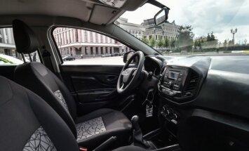 'AvtoVAZ' parādījis 'Lada XRay' modeļa interjeru
