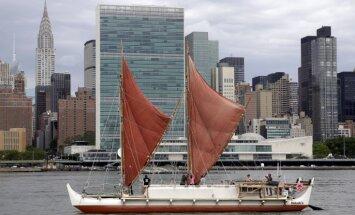 На полинезийском каноэ впервые в истории обогнули Землю