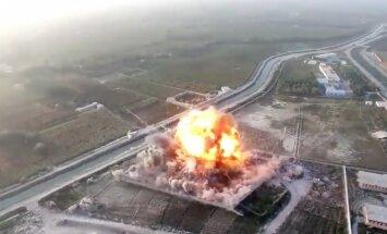 Drona video: kā 'Taliban' džihādists dodas savā pašnāvnieka misijā Afganistānā