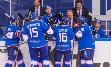 Sotnieks iemet divus vārtus spēlē pret KHL grandu CSKA