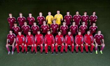 Paziņots U-21 futbola izlases kandidātu saraksts spēlēm ar Moldovu un Melnkalni