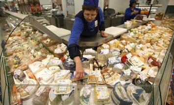 'Delfi' apskats: Baltijas valstu produkti, kas palikuši Krievijas veikalu plauktos