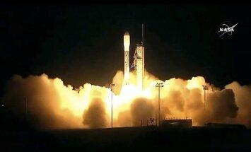 Foto: NASA palaiž pirmo nākamās paaudzes meteoroloģisko pavadoni