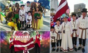 Шоу талантов в США: семья из Латвии получила четыре золотые медали