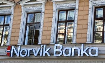 Убытки Norvik banka в прошлом году составили 44,03 млн евро