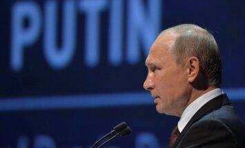 Krievija centīsies saglabāt spēku līdzsvaru pasaulē, pauž Putins