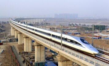 Ķīna un Krievija plāno ātrvilciena dzelzceļa līniju starp Maskavu un Pekinu
