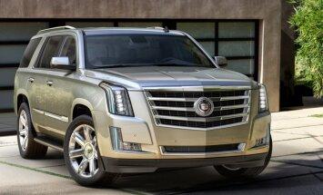 'Cadillac' jaunās paaudzes 'Escalade' apvidnieks