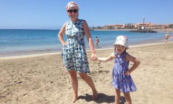 Vecākiem jābeidz kautrēties par savu īpašo bērnu, saka Luīzes, meitenes ar Dauna sindromu, mamma