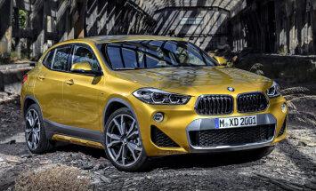 Nedēļas nogalē Siguldā ekskluzīvi varēs apskatīt jauno 'BMW X2'