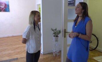 Video: Aija Andrejeva izrāda savu dzīvokli