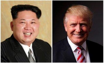 'Tas nenotiks': Tramps sola, ka Ziemeļkorejai nebūs kodolspējīgas starpkontinentālās raķetes