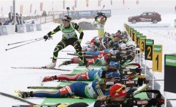 Juškānei 86.vieta Pasaules kausa biatlonā trešā posma sprinta sacensībās