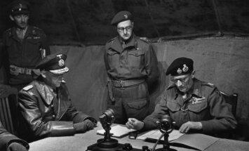 #Ziņas1945: Vācu spēki Rietumeiropā paraksta padošanos