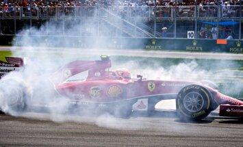 'Ferrari' sniegums šosezon ir pārsteigums, paziņo 'Mercedes' pilots Rosbergs