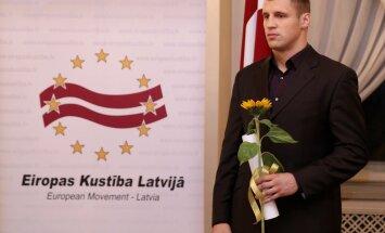 Par Eiropas cilvēku Latvijā kļuvis bokseris Mairis Briedis