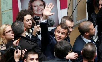 Francijā sāk izmeklēšanu par Makrona 2016.gada braucienu uz Lasvegasu