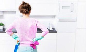 Spodrības diena virtuvē: noderīgi uzkopšanas padomi
