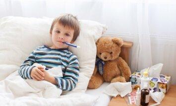 Cik reižu gadā bērna slimošana ir normāla lieta un kad jāsāk uztraukties