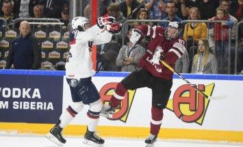 Latvijas izlase centīsies ceturto reizi sarūgtināt ASV hokejistus