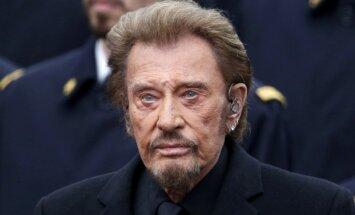 74 gadu vecumā mirusi franču rokzvaigzne Džonijs Holidejs