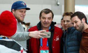 Medijs: Znaroku Krievijas hokeja izlases vadībā varētu nomainīt Vorobjovs