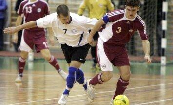 Latvijas telpu futbola izlase paliek bez uzvarām turnīrā Baku