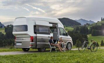 VW izstrādājis greznu divstāvu namiņu uz riteņiem