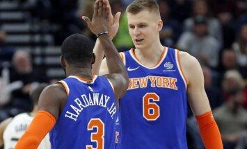 Ņujorkas 'Knicks' uz Porziņģi cer jau nākamajā sezonā