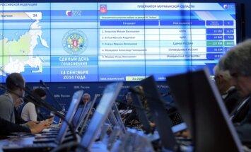 Krievijas reģionālajās un vietējās vēlēšanās vadībā 'Vienotā Krievija'