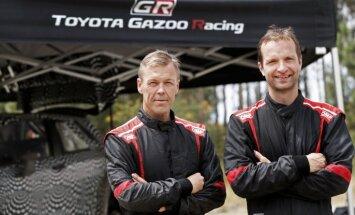 'Toyota' rūpnīcas komandu WRC čempionātā pārstāvēs soms Juho Hanninens