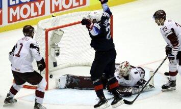 ВИДЕО: Лучшие моменты и голы хоккейного матча США — Латвия на ЧМ в Дании