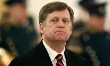 ASV valdība nefinansēs Krievijas politiskās partijas, kustības un politiķus