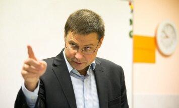 Dombrovskis izstājas no cīņas par EK prezidenta amatu