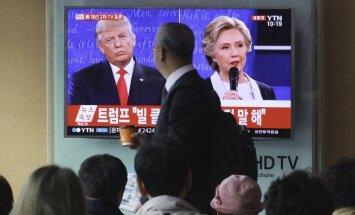 Amerikāņi jūt spriedzi vēlēšanu dēļ, atklāj pētījums