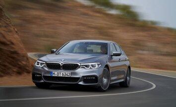 BMW oficiāli atklājis jauno 5. sērijas sedanu