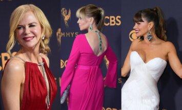 Foto: 'Emmy' ceremonijas stila veiksmes un katastrofas